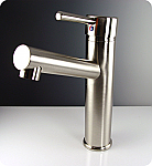 Brushed Nickel Finish Savio Single Handle Lavatory Faucet