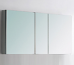 Contempo 50 inch Wide Bathroom Medicine Cabinet with Mirrors