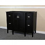 Bella 44 Inch Espresso Finish Vanity Base Only