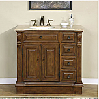 Silkroad Single Sink Vanity HYP-0904L-38