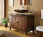 Adelina 48 inch Contemporary Vessel Sink Bathroom Vanity