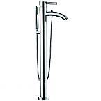 Taron Floor-Mounted Bathroom Faucet Polished Chrome