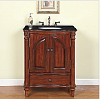 Accord Antique 30 inch Traditional Bathroom Vanity Antiqued Cherry Finish