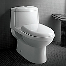 Arle Platinum One Piece High Quality Glaze Toilet