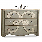 "Cole & Co. 48"" Designer Series Collection Chamberlain Sink Chest"