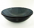 Legion Tempered Glass Vessel Sink ZA-27 Dark grey