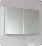Contempo 40 inch Wide Bathroom Medicine Cabinet with Mirrors