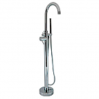 Cambridge Clawfoot Tub Modern Freestanding Faucet