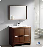 "Fresca Allier 36"" Modern Bathroom Vanity Wenge Finish"