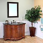 Bella 48 inch Antique Single Wood Bathroom Vanity