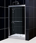 "DreamLine 56-60""W x 72""H Bypass Sliding Shower Door"