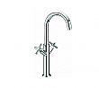 Legion Chrome Dual Handle Goose Neck Faucet ZZA