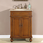 Silkroad Exclusive HYP-0132-T Single Sink Bathroom Vanities