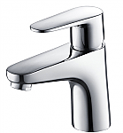 Single Hole Mount Bathroom Faucet in Chrome