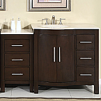 Accord Traditional 53 inch Modular Bathroom Vanity