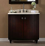 36 inch Dark Espresso Bathroom Vanity