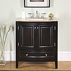 Accord Antique 32 inch Single Sink Bathroom Vanity