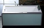 "EAGO 71"" Free Standing Modern Whirlpool Spa"