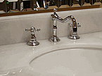 Adelina Chrome Basin Widespread Faucet