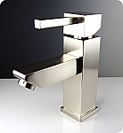 Brushed Nickel Versa Single Handle Lavatory Faucet