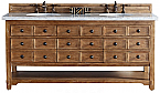 "James Martin Malibu Collection 72"" Double Vanity Cabinet, Honey Alder"