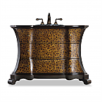 "Cole & Co. 51"" Designer Series Collection Madeleine Vanity"