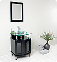 "Fresca Contento Collection 24"" Modern Bathroom Vanity with Faucet and Linen Cabinet Option"