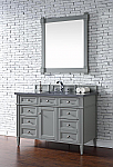 "James Martin Brittany Collection 48"" Single Vanity, Urban Gray"