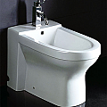 EAGO White Ceramic Elongated Bowl Bidet