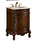 24 inch Adelina Antique Bathroom Vanity Cabinet