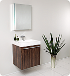 23 inch Walnut Modern Bathroom Vanity
