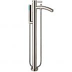 Taron Floor Mounted Bathroom Faucet Brushed Nickel