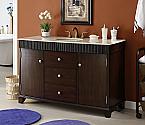 Adelina 54 inch Contemporary Style Bathroom Vanity Cabinet