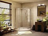 Fleurco Banyo Amalfi 38 Frameless Neo angle Shower Doors