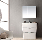 Acqua Milano 31 inch Modern Bathroom Vanity White Finish