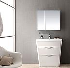 Acqua Milano 31 inch Modern Bathroom Vanity White Finish