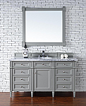 "James Martin Brittany Collection 60"" Single Vanity, Urban Gray"