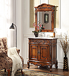 33 inch Adelina Antique Bathroom Vanity Fully Assembled