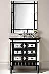 32 inch Adelina Mirrored Bathroom Vanity & Mirror