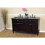 Bellaterra Home 603215-62DM-BG Double Sink Vanity