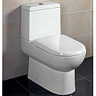 Ariel Platinum One Piece Contemporary Toilet