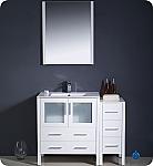 Fresca Torino 42 inch White Modern Bathroom Vanity