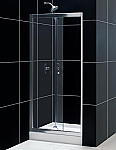 "Dreamline 32"" x 72"" Butterfly Shower Door Reversible Left or Right Install"