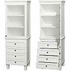 Acclaim 72 inch Linen Cabinet White Finish