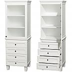 Acclaim 72 inch Linen Cabinet White Finish