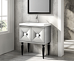 31 inch Modern Bathroom Vanity Dove Grey Finish