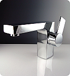 Chrome Isarus Single Handle Lavatory Faucet