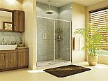 """Fleurco Banyo Amalfi 69""""-71"""" Frameless In Line Sliding Shower Door"""