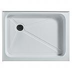 "Vigo Rectangular Shower Tray White Left Drain 36"" x 48"""