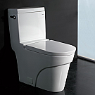 Ariel Platinum Elongated Contemporary European Toilet